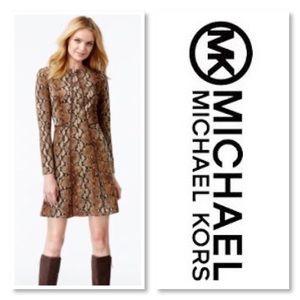 🆕 Michael kors snakeskin dress